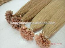 silky straight nail pre bonded hair extensions ~italian glue