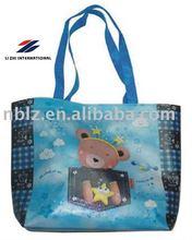 PP cartoon laminated non woven shopping bag