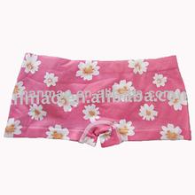 2014 new design flower ladies lovely seamless boxer underwear