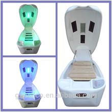 Luxury ozone sauna spa capsule photon light therapy machine LK-216A