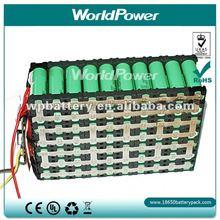 26650 cells inside Lifepo4 36V 12.8Ah battery for Heavy equipment