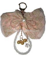 crystal bag hanger keychain