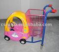 hot venda de crianças dos desenhos animados e supermercado carrinhos de compras