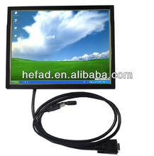 """8"""" inch industrial open frame LED touch screen monitor"""