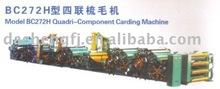 Electric BC272H Quadri-Component Carding Machine