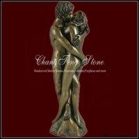 Garden Ornament Lovers bronze statue