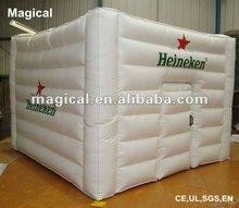 simple design Inflatable mini warehouse cube Tent