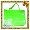 China jewelry art bag and green non woven shopping bag