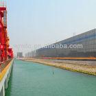 Port wind barrier