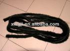 top quality natural black color mink tail Mink fur trimming for jacket