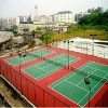 outdoor tennis court rubber sports floor