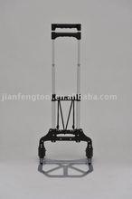 3.3kg foldable aluminum Hand trolly, aluminum cart, 2 wheels truck