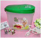2014 new 4000ml /4L /Plastic pet food container/ storage box/dog food container