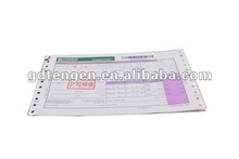 2013 Hot! SUDAN POST express air waybill printing with high quality A021