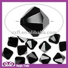 Bulk 5301 Faceted Bicone Crystal Beads Jet Black
