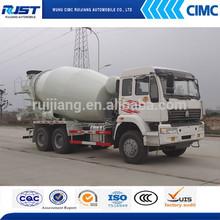 6*4 SINOTRUK HOWO 9m3 Concrete/Cement Mixer Truck For Sale