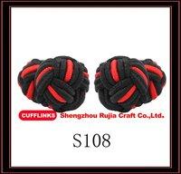 fashion accessory ,mens silk knot button cufflinks
