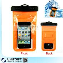 Funny mobile phone PVC waterproof case