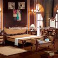 Chambre en rotin ensemble de meubles(8853)