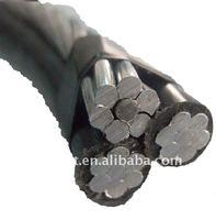 For Mauritius 2011 Hot Sale ABC AERIAL BUNCH CABLE abc aerial bundle cable.0.6/1KV, XLPE/PVC insulation, Aluminum Conductor