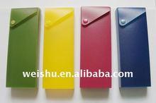 WS8444 pp pencil case,pencil box,PP Slide Pencil Case