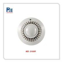 Wireless Photoelectric Battery Operated Smoke Detector