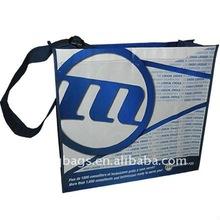 PP Nonwoven shoulder travel bag
