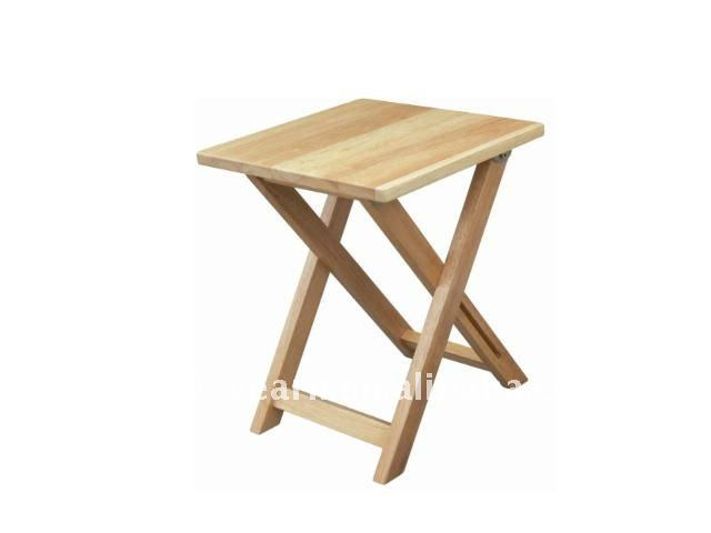 Pliable chaise pliante en bois table de chevet table en for Petite table pliante