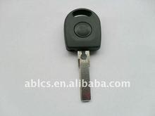 Auto key shell for VW B5 cars with a light(a battary inside)