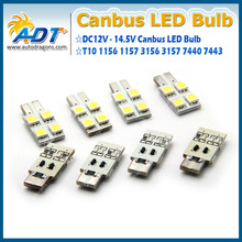 T10 (194) canbus auto led lamp with 4 pcs led on one side