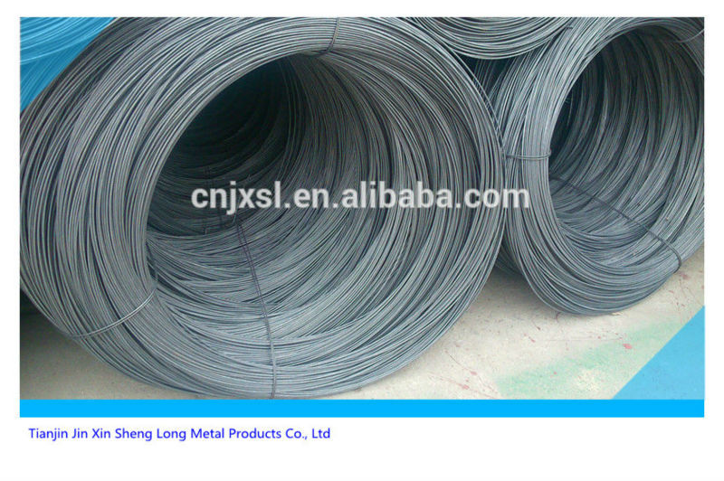 big coil galvanized iron wire