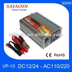 12v car power inverter 300w 110v/120v/220v, mini solar inverter price