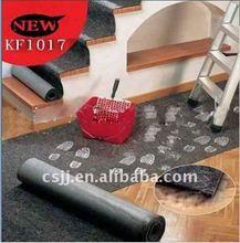 PE coated nonwoven paint mat/paint felt/painter drop cloth