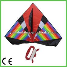 big delta kites/rainbow delta kite/new flying beautiful big delta kite