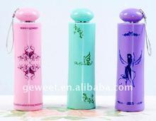 wholesale hand open fashion wine bottle umbrella for gift
