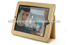 Hot Sale for Ipad 2 Protective Case, Stand Leather Case