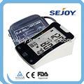 Automatique électronique numérique tensiomètre avec rétroéclairage, parler, pc link, qui, bhi, mémoire