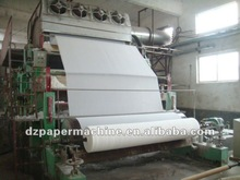 2014 China famous 1092-3800mm Toilet paper machine production lines