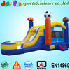 leadless PVC tarpaulin cheap bouncer and slide combo hot sale