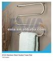 in acciaio inox scalda asciugamani elettrico