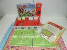 Papel educativo boardgame, personalizado de tablero de juego, kid's tablero de juego