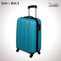 matte finish classical style fashion polycarbonate PC luggage case
