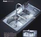 Double Stainless Steel Sinks
