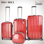 2014 high quality unique ladies PC carry on luggage