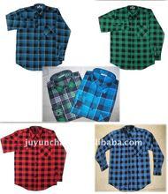 2014 wholesale cheap flannel shirts for men