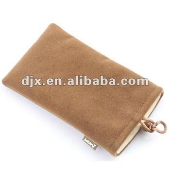 Fashion Velvet Mobile Phone Bags