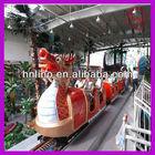 Outdoor playground rides! amusement park electric mini train