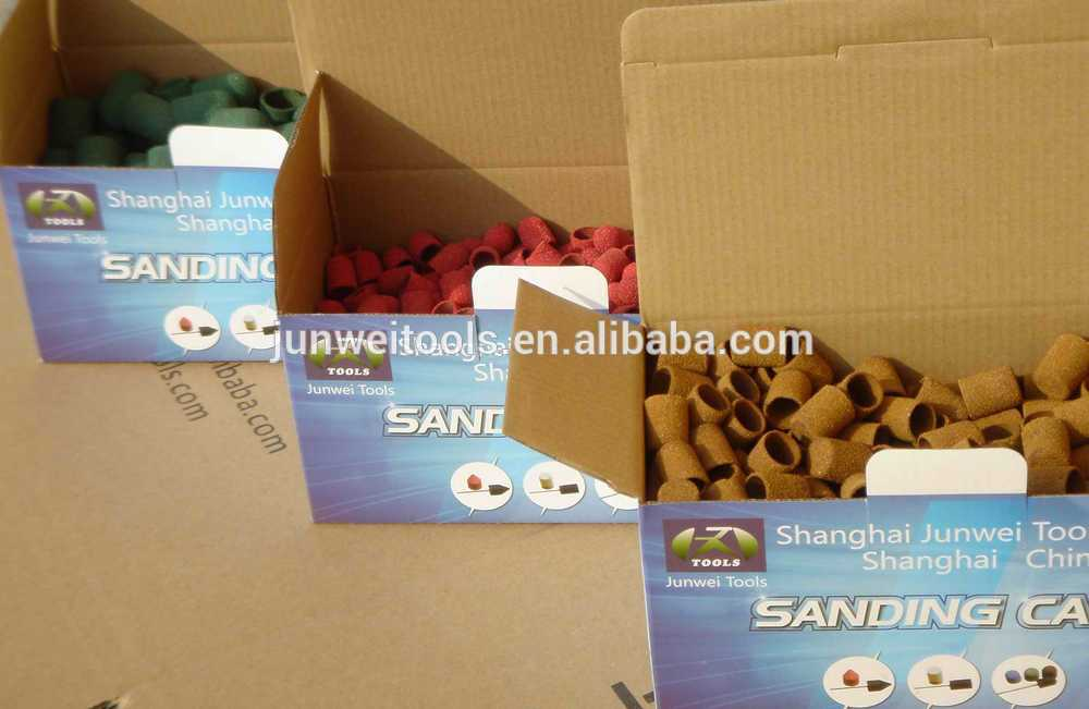 Sanding cap for manicure and pedicure (product number: JW-SC-0019)