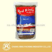 Ziplock plastic laminating pouches for 1kg tobacco