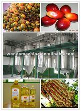 2012 hot 5-10Ton/day Crude Palm Oil Process